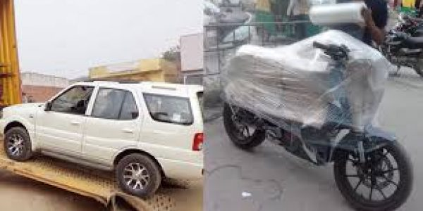 Car and Bike Transport Services in Mhow
